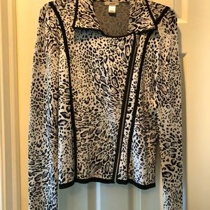 Cache knit Jacket XL with matching skirt